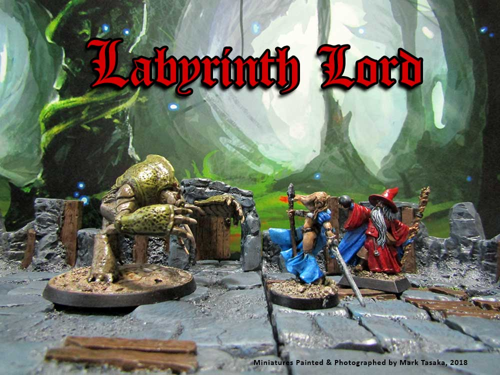 Labyrinth Lord Elf Character Generator